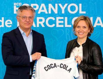 ESPANYOL RENUEVA CON COCA COLA